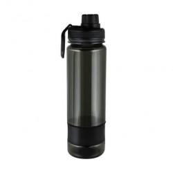 Бутылка для воды Be First без логотипа 900 мл Тритан, черная