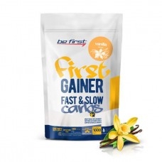 Гейнер Be First Gainer Fast & Slow Carbs 1000 г Vanilla