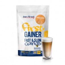 Гейнер Be First Gainer Fast & Slow Carbs 1000 г Cappuccino