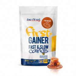 Гейнер Be First Gainer Fast & Slow Carbs 1000 г Caramel