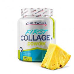 Коллаген Be First First Collagen в порошке 200 г, ананас