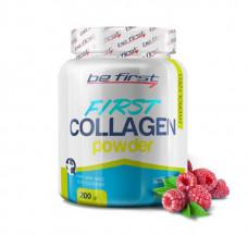 Коллаген Be First First Collagen в порошке 200 г, малина