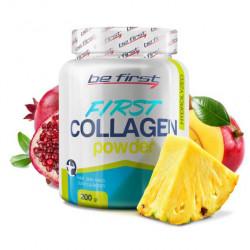 Коллаген Be First First Collagen в порошке 200 г, экзотик