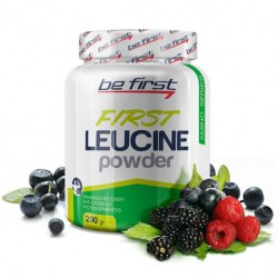Be First Leucine Powder 200 г лесные ягоды