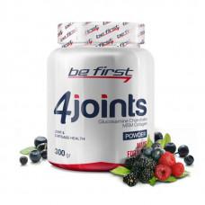 Средство для суставов и связок Be First 4joints в порошке 300 г, лесные ягоды