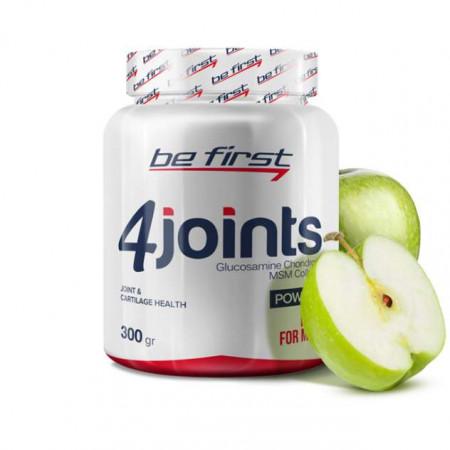 Средство для суставов и связок Be First 4joints в порошке 300 г, яблоко