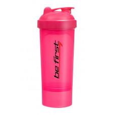 Шейкер-слим Be First 350 мл розовый