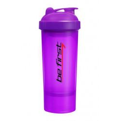 Шейкер-слим Be First 350 мл фиолетовый