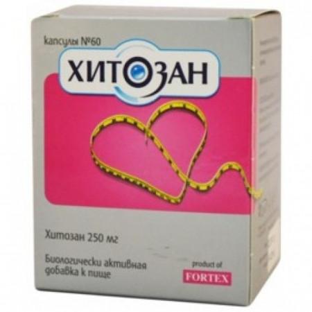 Хитозан Fortex 340 мг №60