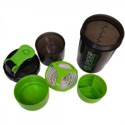 Шейкер Sprinter Spider Bottle 500 мл черно-зеленый