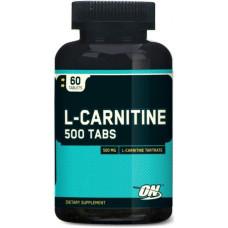 Optimum Nutrition L-Carnitine, 60 таблеток