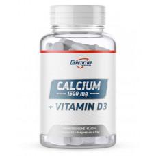 Кальций и витамин D3 GeneticLab Nutrition Calcium 1500 + Vitamin D3 90 таблеток