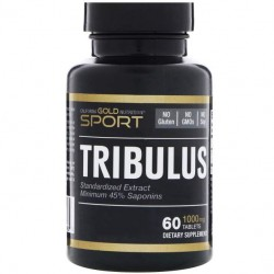 Бустер тестостерона California Gold Nutrition Tribulus 1000 60 таблеток