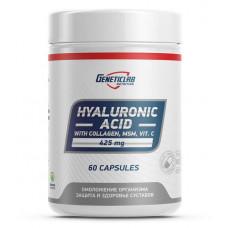 Гиалуроновая кислота GeneticLab Nutrition Hyaluronic Acid 60 капсул