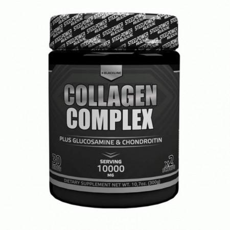 Комплексное средство Steel Power Nutrition Collagen Complex 300 г апельсин