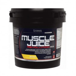Гейнер Ultimate Nutrition Muscle Juice Revolution 5000 г Banana