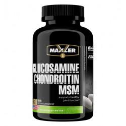 Глюкозамин хондроитин MSM Maxler USA 180 таблеток