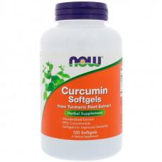 Куркумин NOW Curcumin Extract 95% 120 капсул