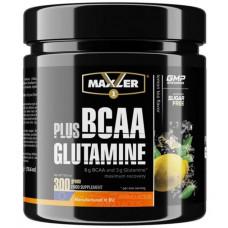 Maxler BCAA + Glutamine 300 г чай с лимоном
