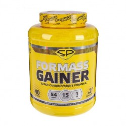 Гейнер Steel Power Nutrition For Mass Gainer 3000 г банан