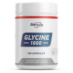 Добавка для нервной системы GeneticLab Nutrition Glycine 1000 100 капсул