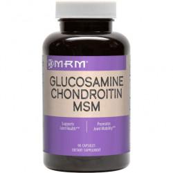 Глюкозамин хондроитин MSM MRM 90 таблеток