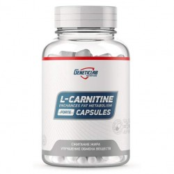 GeneticLab Nutrition L-Carnitine 900, 60 капсул