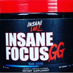 Предтренировочный комплекс Insane Labz Insane Focus.gg 146 г, Sub Zero