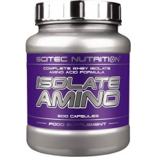 Scitec Nutrition Isolate Amino 500 капсул без вкуса