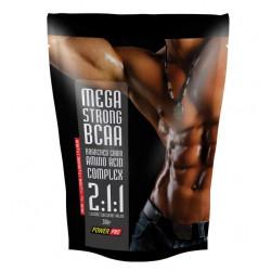 PowerPro BCAA Mega Strong 300 г без вкуса