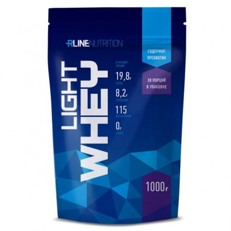 Протеин Rline Light Whey 1000 г кола-мармелад