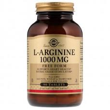 Solgar L-Arginine 1000 90 таблеток без вкуса