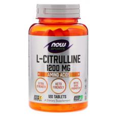 NOW Sports L-Citrulline 1200 120 таблеток без вкуса