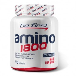 Be First Amino 1800 210 таблеток без вкуса