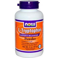 NOW Sports L-Tryptophan Powder 950 57 г без вкуса
