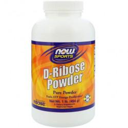 Изотонический напиток NOW D-Ribose Powder 454 г, без вкуса