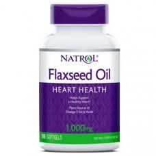 Natrol Flax Seed Oil 1000 - 90 капсул
