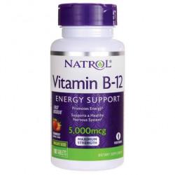 Витамин B12 Natrol Vitamin B-12 5000 FD 100 таблеток
