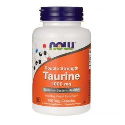 NOW Sports Double Strength Taurine 1000 100 капсул без вкуса