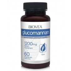 Biovea Glucomannan - 1200 мг - 60 капсул