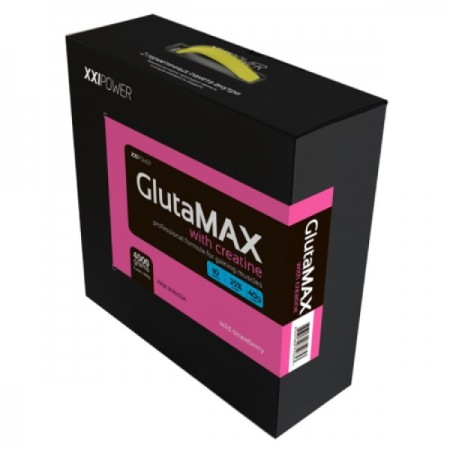 Гейнер XXI Power GlutaMAX with Creatine 4000 г Wild Strawberry