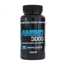 Ironman Amino 3000 + B6 60 капсул без вкуса