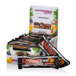 Батончик Ironman Energy Bar с гуараной sm1646 50гр орех, 24 шт.