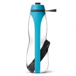 Бутылка для питья black+blum, EAU GOOD Duo, 800 мл, с фильтром, голубой