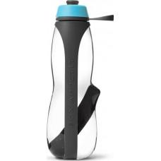 Бутылка для питья black+blum, EAU GOOD Duo, 800 мл, с фильтром, серо-голубой