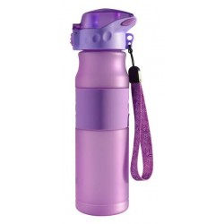 Бутылка для воды Barouge Active Live BР-914 фиолетовая 600 мл