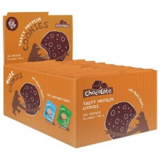Печенье PureProtein Fuze Cookies 640 г 16 шт. шоколад
