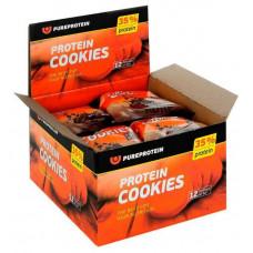 Печенье PureProtein 960 г 12 шт. шоколад с кусочками шоколада