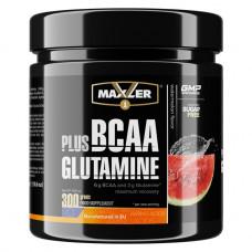 Maxler Plus Glutamine 300 г арбуз