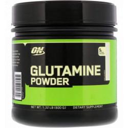 Optimum Nutrition Glutamine Powder 600 г без вкуса